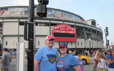 Megan Meehan at Wrigley Field