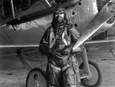 Image of Paul King, NACA test pilot.