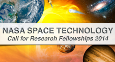 NASA Space Technology, call for research fellowships 2014.