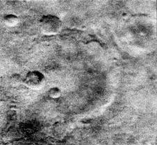 Mariner Crater on Mars