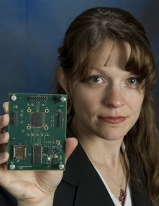 Beth Paquette received IRAD funding to advance a common customizable instrument electronics package called MinE Pack.