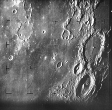 Ranger 7 took this image, the first picture of the Moon by a U.S. spacecraft, on 31 July 1964