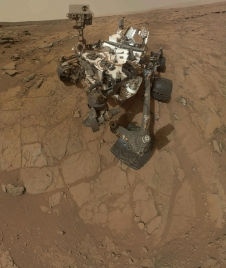 Self-portrait of NASA's Mars rover Curiosity