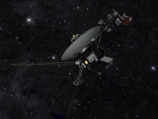 Artist's concept of NASA's Voyager spacecraft