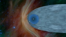 Artist's concept of Voyager 1 and 2