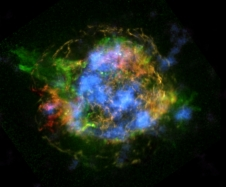 First map of radioactivity in a supernova remnant