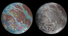 Ganymede global geologic map