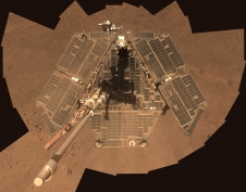 Self-portrait of NASA's Mars Exploration Rover Opportunity