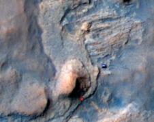 Mars Sandstone Target 'Windjana'