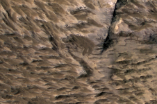 Landsides on Mars