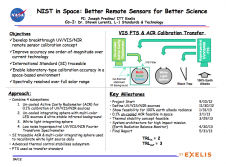 NIST in Space: Better Remote Sensors for Better Science