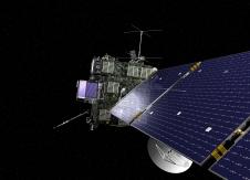 Artist's concept of Rosetta spacecraft