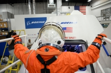 Serena Aunon enters the CST-100
