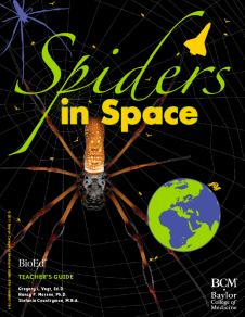"The ""Spiders in Space"" teacher's guide is available for free download at bioedonline.org"