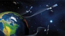 The Tracking and Data Relay Satellite constellation sits at geosynchronous orbit.