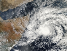 MODIS image of Cyclone 03A