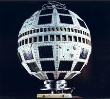 Telstar 1, NASA photo (from http://www.nasa.gov/topics/technology/features/telstar.html,
