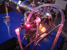 Ames Astrochemistry Lab UV lamp