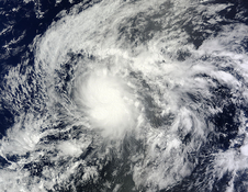 Tropical Depression 1C that turned into Wali