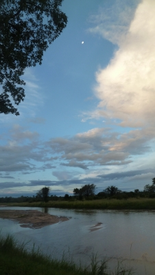 Evening along the river within North Luangwa National Park