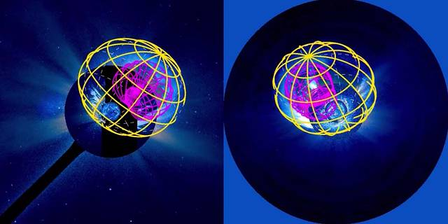 three satellites' models of a CME in 3-D