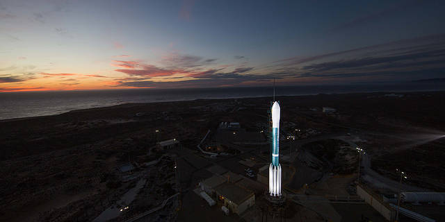 View of Delta II Rocket that is set to Launch NOAA's JPSS-1