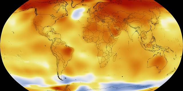 NASA and the National Oceanic and Atmospheric Administration are two keepers of the world's temperature data record.