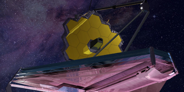 Illustration of NASA's James Webb Space Telescope