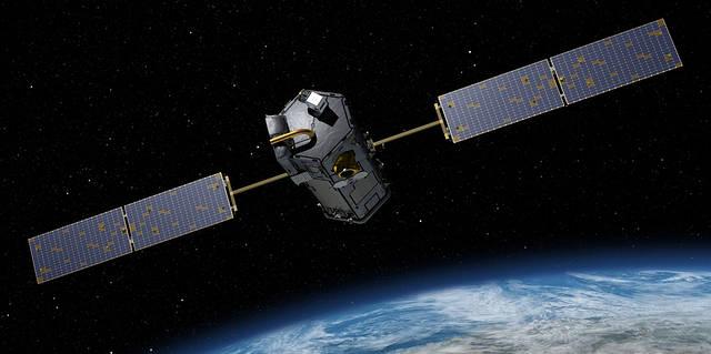 NASA's Orbiting Carbon Observatory-2 (OCO-2).