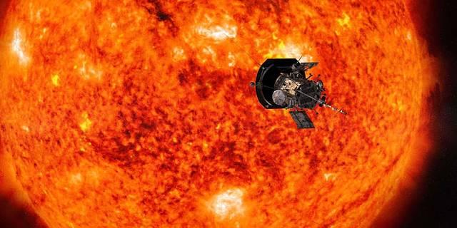 illustration of Parker Solar Probe