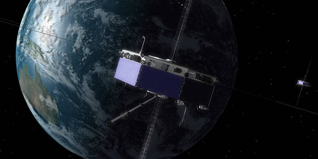 illustration of MMS spacecraft