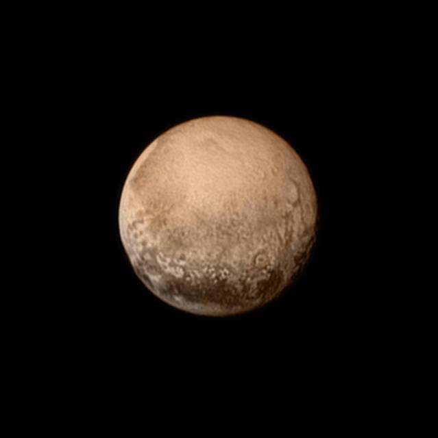 Plutón por New Horizons de la NASA