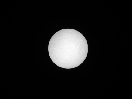 Tethys in Sunlight