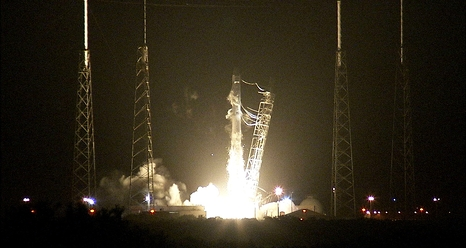 Lancement Falcon-9 / CRS-4 - 21 septembre 2014 Ignition