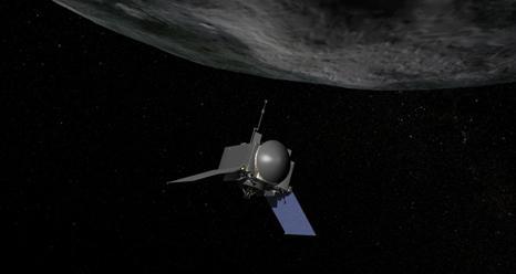 NASA's skitse til et rumskib der skal indfange asteroide i bane om Månen