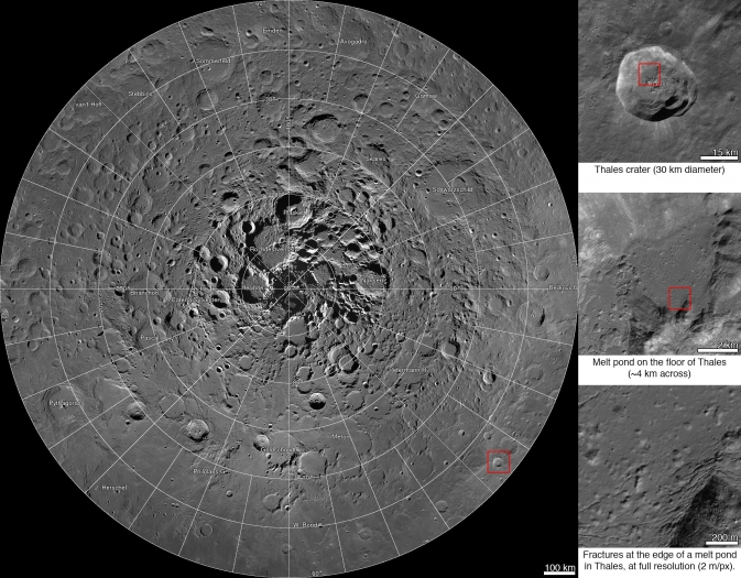 Interactive mosaic from NASA's Lunar Reconnaissance Orbiter