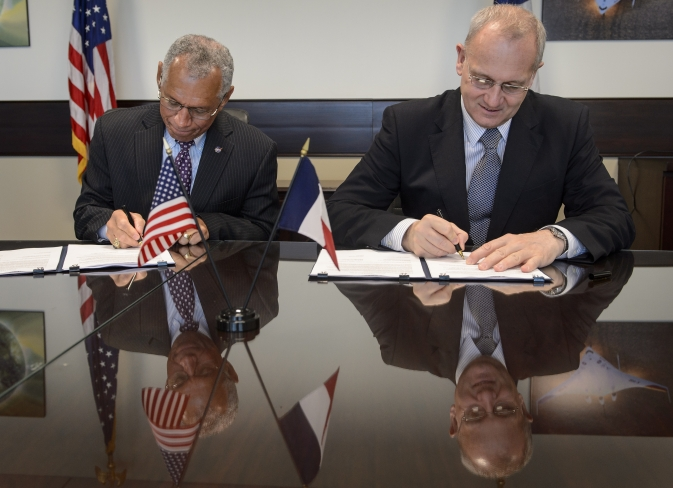 SWOT Agreement signed at NASA