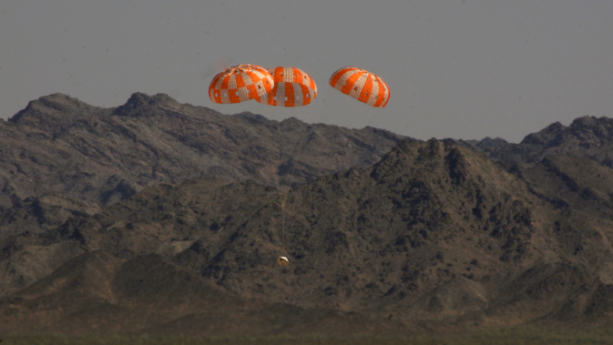 Parachute testing for NASA's Orion Spacecraft