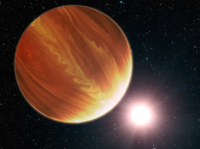 Planet HD 209458b in the constellation Pegasus