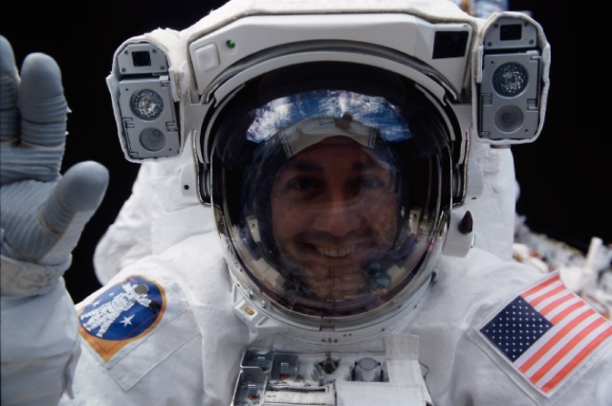 NASA Astronaut Mike Massimino