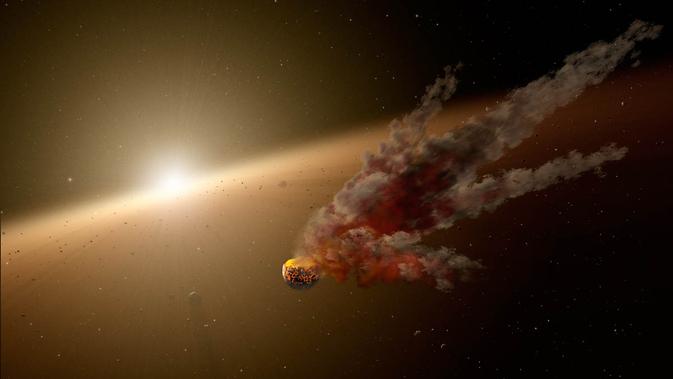 Stor asteroide-kollision