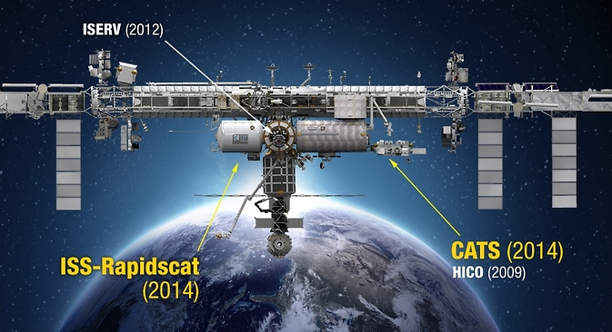 Two NASA Earth-observing instruments are set to launch to the International Space Station this year.