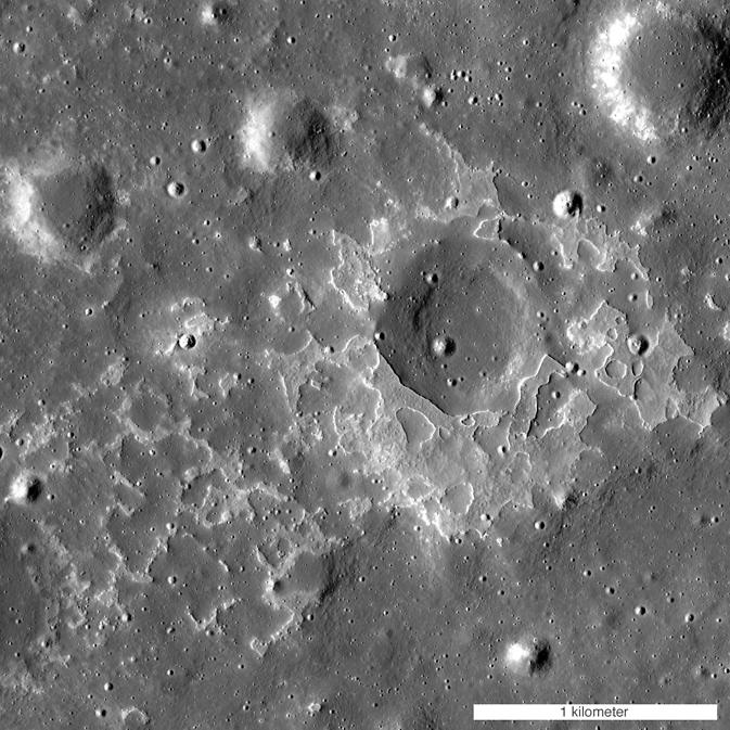 Volcanic deposits on the Moon