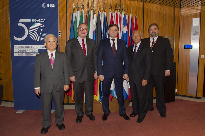 International Space Station Agency Heads
