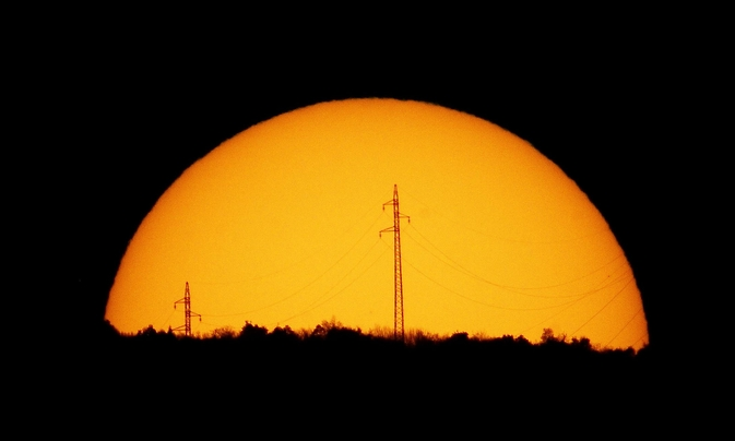 Modern power grids are vulnerable to solar storms.