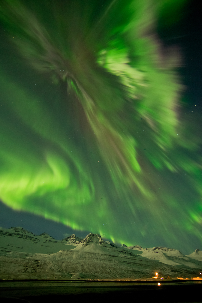 Aurora from Iceland on March 8, 2012