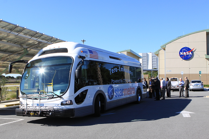 The Proterra electric bus
