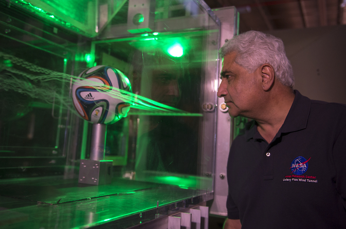 NASA Turns World Cup into Lesson in Aerodynamics NASA