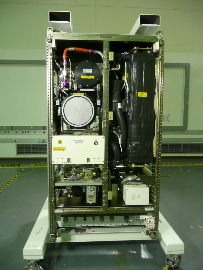 ISS Air Revittilization System rack represents the state of the art in spacecraft oxygen recovery technology