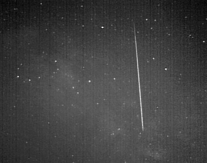 A meteor from comet 209P/Linear